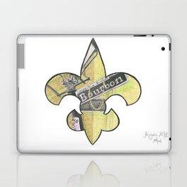 Fleur De Lis Bourbon Street Laptop & iPad Skin