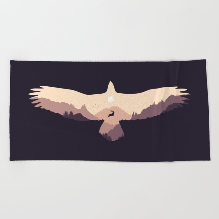 Free Spirit Beach Towel