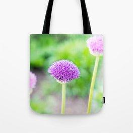 Deep Purple Flower Dream Tote Bag