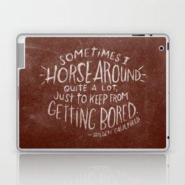HOLDEN CAULFIELD Laptop & iPad Skin