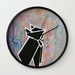 Kuro Neko (黒猫) Wall Clock