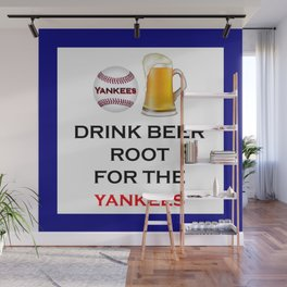 Yankees Team Gifts and Beer, Baseball Team, Sports Fan Clothes Wall Mural