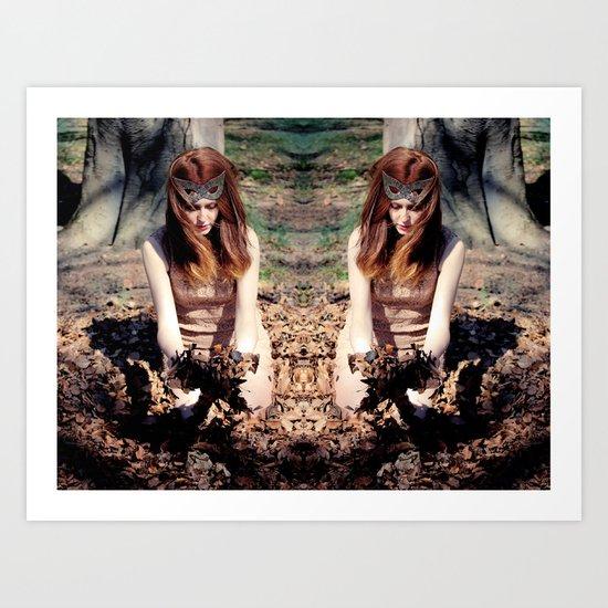 Reflects4 Art Print