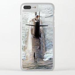 USS THOMAS JEFFERSON (SSBN-618) Clear iPhone Case