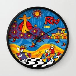 Rio New Wall Clock
