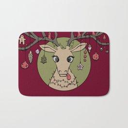 Silly Reindeer Bath Mat