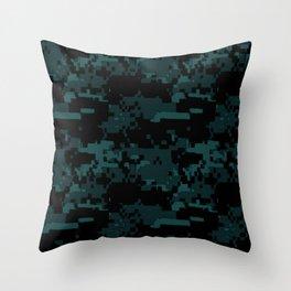 DIGITAL CAMO Throw Pillow