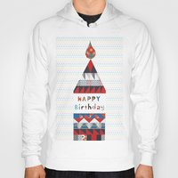happy birthday Hoodies featuring Happy birthday by Varsha