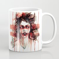 vampire diaries Mugs featuring VAMPIRE by AkiMao