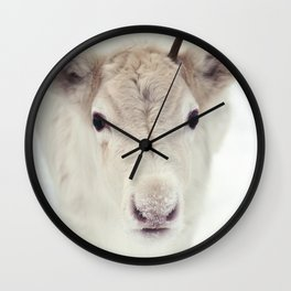 Only One Antler Wall Clock