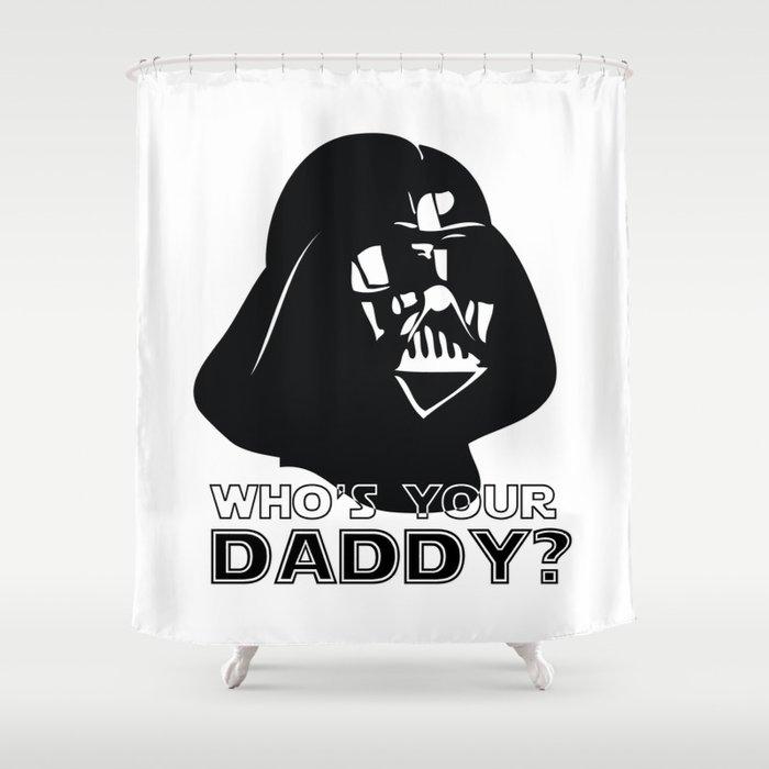 Darth Vader Shower Curtain By Misfitkismet