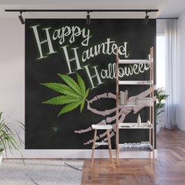 Happy Haunted Halloweed Wall Mural