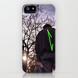 Up Away iPhone Case