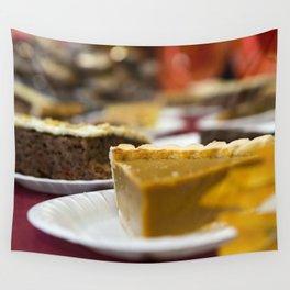 Thanksgiving Pumpkin Pie Dessert Wall Tapestry