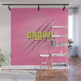 GROWL Wall Mural