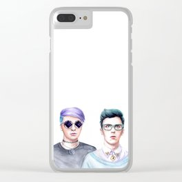 Pastel edits Clear iPhone Case