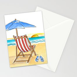 Life's a Beach! Stationery Cards
