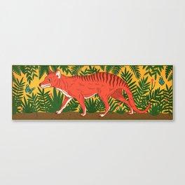 Tasmanian Tiger Canvas Print