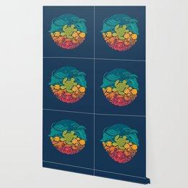 Aquatic Rainbow Wallpaper