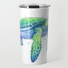 Green Sea Turtle Travel Mug