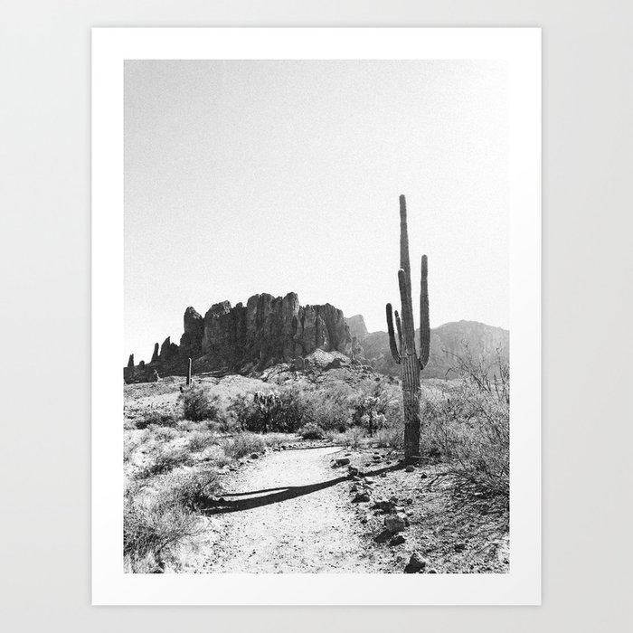 Arizona Desert Kunstdrucke