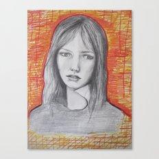 Jane Birkin Canvas Print