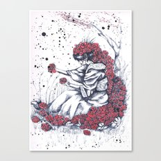 The color of the flowers Canvas Print