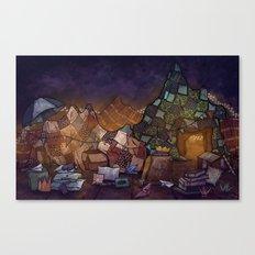 Blanket Fort Canvas Print
