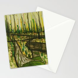 Mossy Forest Floor Stationery Cards