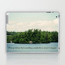 Something Wonderful Laptop & iPad Skin