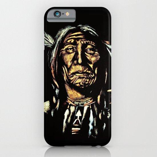 Native American Elder iPhone & iPod Case