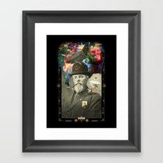 Odd Scientist Framed Art Print