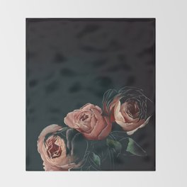 All The Pretty Flowers No. 1 Throw Blanket