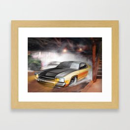 Loading the Drama Framed Art Print