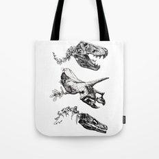 Jurassic Bloom. Tote Bag