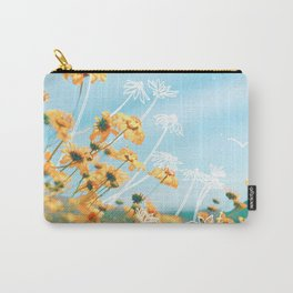Yellow Dandelion Field Carry-All Pouch