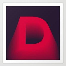 "The "" FADE "" Series - D Art Print"