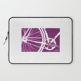 Purple Bike Laptop Sleeve