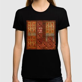 Vintage textile patches T-shirt