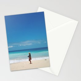 Blue Horizon Has No Limit Stationery Cards