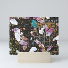 Petals- Atop the Sewer Mini Art Print