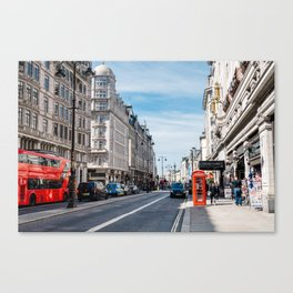 The Strand in London Canvas Print
