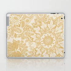 Floral in Yellow Laptop & iPad Skin