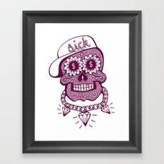 Sugaskull Framed Art Print