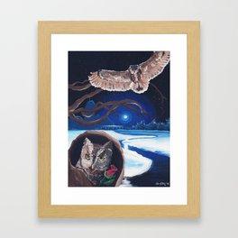 Mysterious Rose Framed Art Print