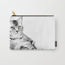 Lying Cat, Color Halftone Carry-All Pouch
