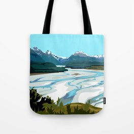 Dart River Valley, Glenorchy Tote Bag