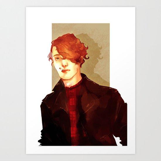 Feuilly2 Art Print