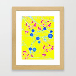 Sun BrainStorm Framed Art Print