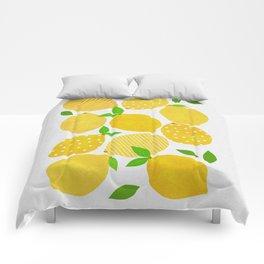 Lemon Crowd Comforters